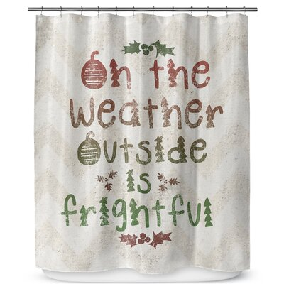 Oh the Weather 90 Shower Curtain