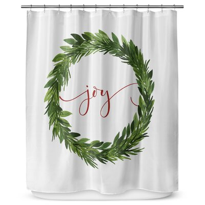 Joy 90 Shower Curtain
