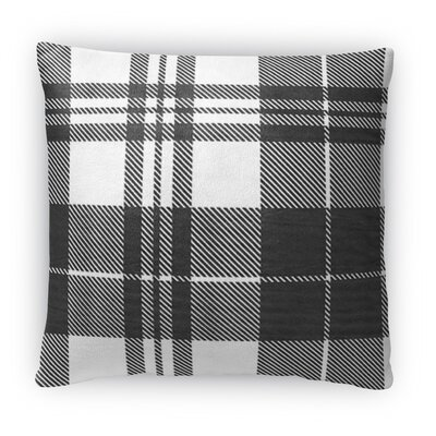 Plaid Fleece Throw Pillow Size: 16 H x 16 W x 4 D