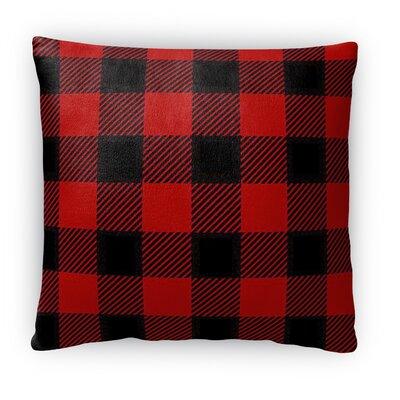 Lumberjack Fleece Throw Pillow Size: 18 H x 18 W x 4 D