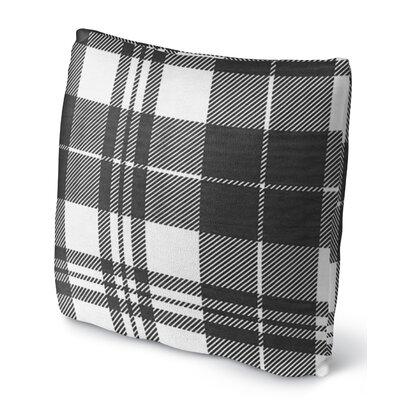 Plaid Throw Pillow Size: 16 H x 16 W x 4 D