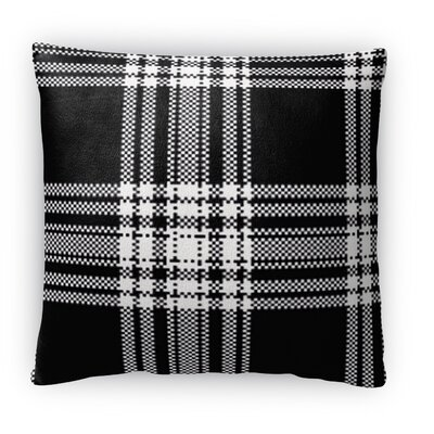 Plaid Fleece Throw Pillow Size: 16 H x 16 W x 4 D