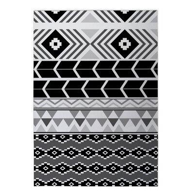 Tribal Indoor/Outdoor Doormat Rug Size: Square 8 x 8