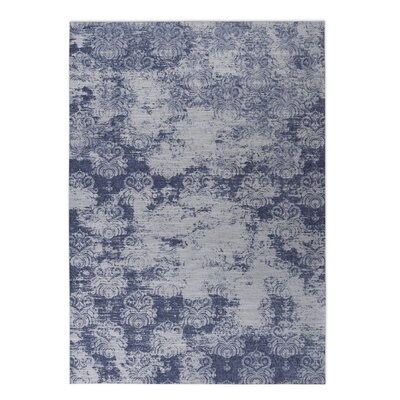 Cataleya Indoor/Outdoor Doormat Color: Blue, Rug Size: 5 x 7