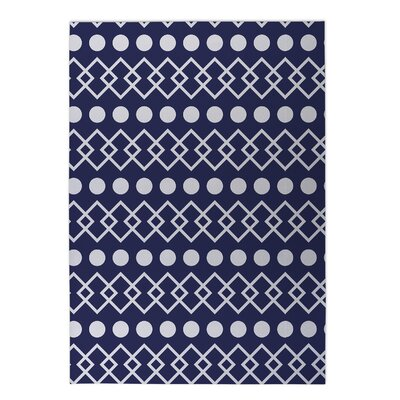 Chains with Dots Indoor/Outdoor Doormat Rug Size: Square 8 x 8