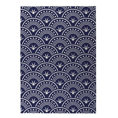 Hoops Indoor/Outdoor Doormat Rug Size: Rectangle 8 x 10