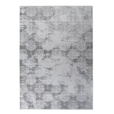 Victoire Indoor/Outdoor Doormat Rug Size: 2 x 3, Color: Gray