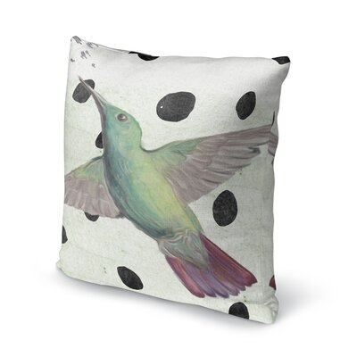 Hummingbird Accent Pillow Size: 18 H x 18 W x 5 D