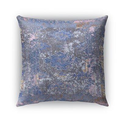 Cimarron Burlap Indoor/Outdoor Throw Pillow Size: 26 H x 26 W x 5 D, Color: Purple