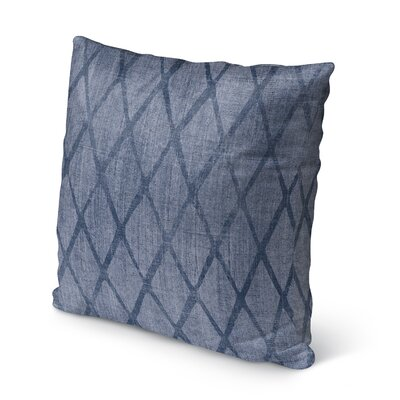 Potenza Burlap Indoor/Outdoor Throw Pillow Size: 18 H x 18 W x 5 D