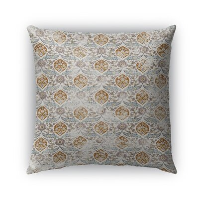 Estancia Burlap Indoor/Outdoor Throw Pillow Size: 18 H x 18 W x 5 D, Color: Light Blue