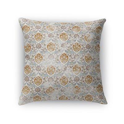 Estancia Throw Pillow Size: 24 H x 24 W x 5 D, Color: Light Blue
