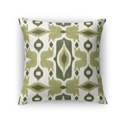 Cosmos Throw Pillow Size: 24 H x 24 W x 5 D, Color: Green