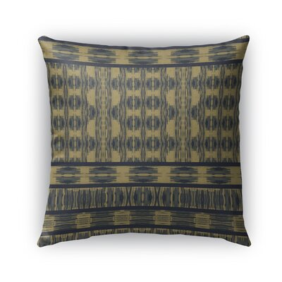 Appa Burlap Indoor/Outdoor Throw Pillow Size: 16 H x 16 W x 5 D, Color: Blue