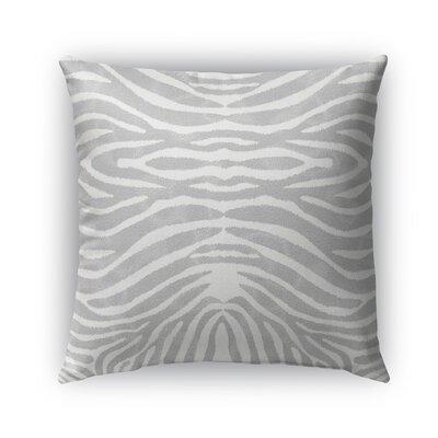 Nerbone Burlap Indoor/Outdoor Throw Pillow Size: 26 H x 26 W x 5 D, Color: Gray