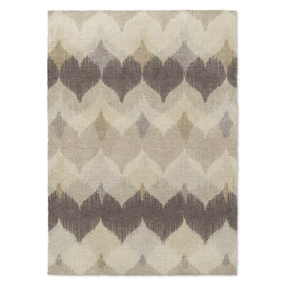 Marshall Brown/Beige Area Rug Rug Size: Rectangle 5 x 7