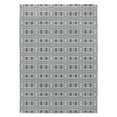 Crossroads Gray Area Rug Rug Size: Rectangle 2' x 3'