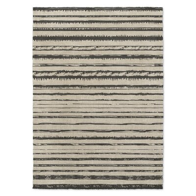 Florentia Beige/Black Area Rug Rug Size: Rectangle 2 x 3