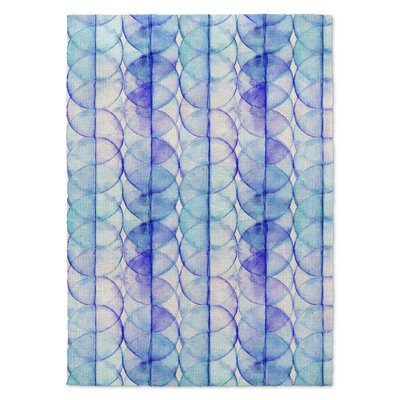 Blue/Purple Area Rug Rug Size: Rectangle 2' x 3'