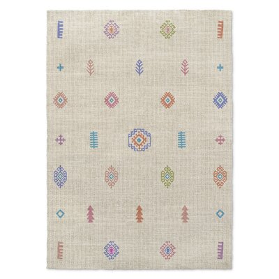 Berekua Beige Area Rug Rug Size: Rectangle 5 x 7