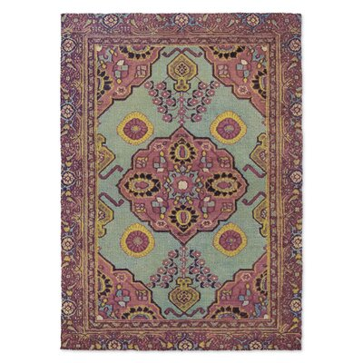Toucari Red/Green Area Rug Rug Size: 8 x 10