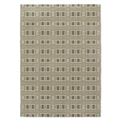 Crossroads Beige Area Rug Rug Size: Rectangle 2 x 3