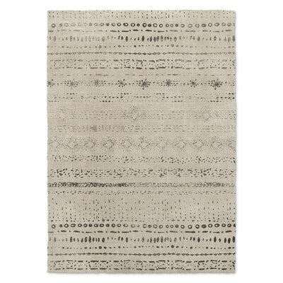 Heliopolis Beige/Black Area Rug Rug Size: Rectangle 3 x 5