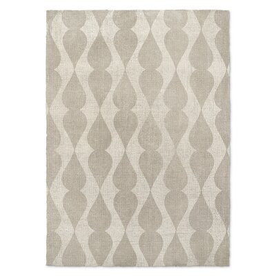 Edessa Cream Area Rug Rug Size: Rectangle 5 x 7