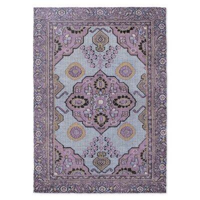 Giraudel Purple Area Rug Rug Size: 3 x 5