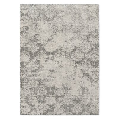 Victoire Gray Area Rug Rug Size: Rectangle 5 x 7