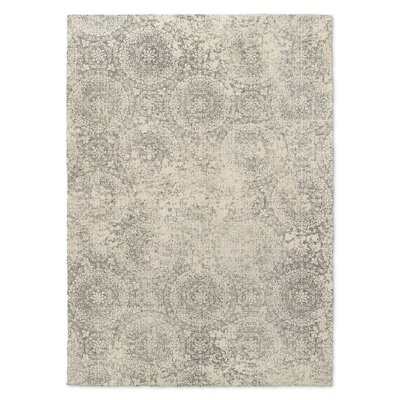 Nova Beige/Gray Area Rug Rug Size: Rectangle 5 x 7