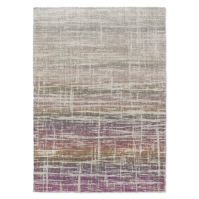 Dublanc Beige/Brown Area Rug Rug Size: 5 x 7