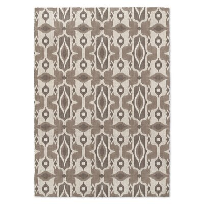 Brown/Beige Area Rug Rug Size: Rectangle 5 x 7