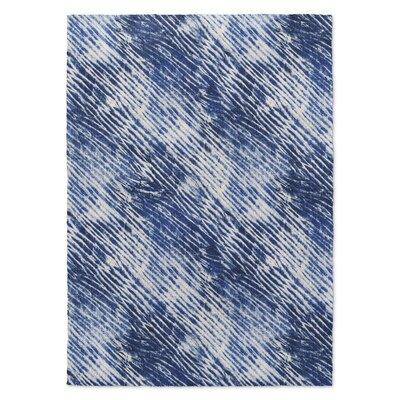 Mero Blue Area Rug Rug Size: 2 x 3
