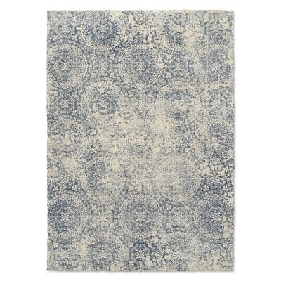Medina Blue/Beige Area Rug Rug Size: Rectangle 2 x 3