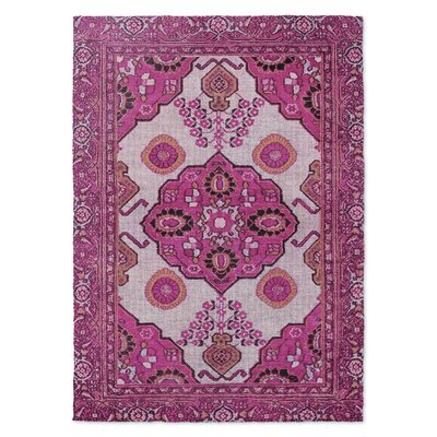 Galion Pink Area Rug Rug Size: 8' x 10'