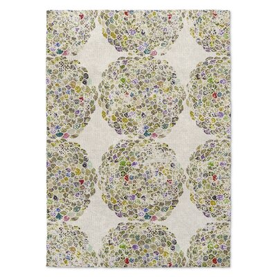 Beige Area Rug Rug Size: Rectangle 5 x 7