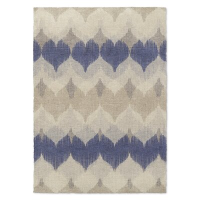 Dylan Beige/Blue Area Rug Rug Size: Rectangle 2 x 3
