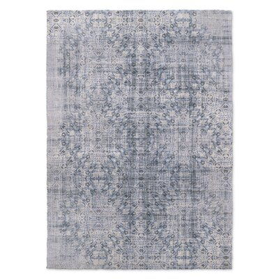Blue Area Rug Rug Size: Rectangle 5 x 7