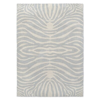 Nerbone Gray/Beige Area Rug Rug Size: Rectangle 5 x 7