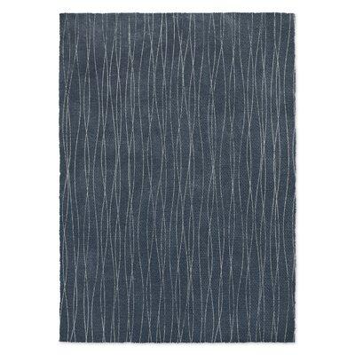 Massalia Blue Area Rug Rug Size: 5 x 7
