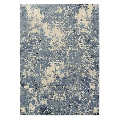 Tempe Blue/Beige Area Rug Rug Size: Rectangle 5 x 7