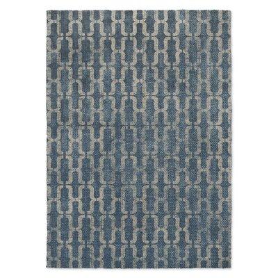 Eboracum Blue/Beige Area Rug Rug Size: 8 x 10