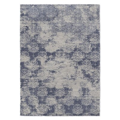 Victoire Blue Area Rug Rug Size: 5 x 7