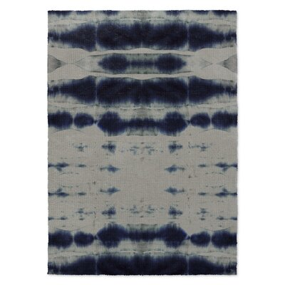 Blue/Gray Area Rug Rug Size: Rectangle 5 x 7