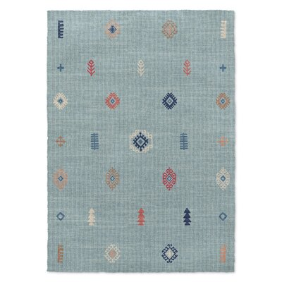 Calibishie Blue Area Rug Rug Size: Rectangle 5 x 7