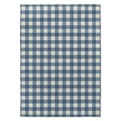 Blue Area Rug Rug Size: Rectangle 8' x 10'