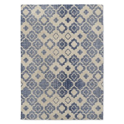 Tripolis Blue/Beige Area Rug Rug Size: Rectangle 3 x 5