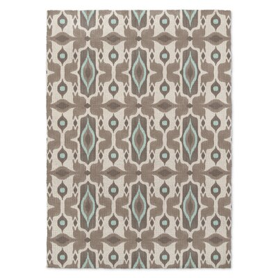 Mojave Brown/Beige Area Rug Rug Size: Rectangle 5 x 7