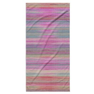 Abstract Sunset Beach Towel